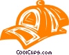 Vector Clipart picture  of a baseball hat