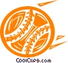baseball Vector Clipart picture