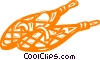 Vector Clipart illustration  of a snowshoes