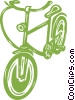 Vector Clipart picture  of a bicycle