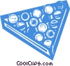 Vector Clip Art graphic  of a pool balls