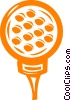 golf ball Vector Clip Art picture