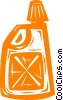 Vector Clipart graphic  of a gasoline container