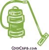 Vector Clip Art picture  of a vacuum