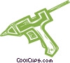 glue gun Vector Clipart picture