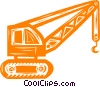 Vector Clipart picture  of a construction crane