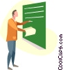 teacher Vector Clipart picture