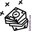 Vector Clipart illustration  of a Diskette