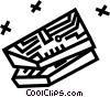 Vector Clipart graphic  of a Circuit board