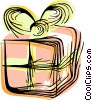 Vector Clipart graphic  of a present/gift