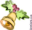 Christmas bell Vector Clipart picture