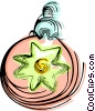 Vector Clip Art graphic  of a Christmas decoration