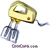 Vector Clipart picture  of a Electric mixer