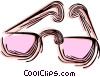 Vector Clipart illustration  of a Eyeglasses