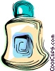 Vector Clipart image  of an After shave