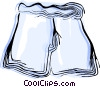 Vector Clipart picture  of a Pair of shorts