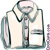 Dress shirt Vector Clip Art image