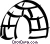 Vector Clip Art picture  of a Igloo