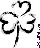 Shamrock Vector Clipart graphic