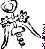 corkscrew Vector Clip Art picture