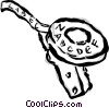 Vector Clipart illustration  of a label maker