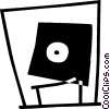 Vector Clipart graphic  of a floppy disk