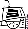 cd-rom drive Vector Clipart picture
