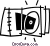 Rom-rom case Vector Clip Art picture