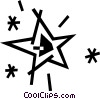 Vector Clip Art graphic  of a star