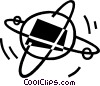 atoms Vector Clip Art picture