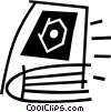 Vector Clipart illustration  of a books
