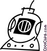 Vector Clipart picture  of a computer camera