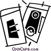 Vector Clipart illustration  of a speakers