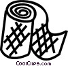 bandages Vector Clipart illustration