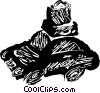 family car Vector Clipart graphic