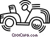 golf cart Vector Clipart picture