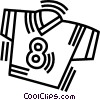Vector Clip Art graphic  of a shirt
