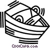 rowboat Vector Clip Art picture