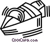 Vector Clipart graphic  of a speed boat