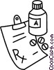 prescription drugs Vector Clip Art graphic