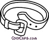 Vector Clip Art graphic  of a belt