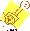 corporate stamp Vector Clipart picture
