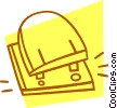 Vector Clipart image  of a hole punch