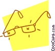 Vector Clip Art image  of a eyeglasses