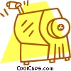 Vector Clipart illustration  of a pencil sharpener