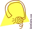 headset Vector Clipart illustration