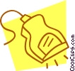 Vector Clip Art graphic  of a hand scanner