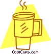 coffee mug Vector Clip Art graphic