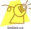 computer camera Vector Clipart picture