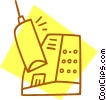 Vector Clipart picture  of a cell phone